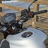 Adhesivo de Resina 3D para la protección de la Tapa del Tanque de la Motocicleta Compatible con Aprilia Shiver