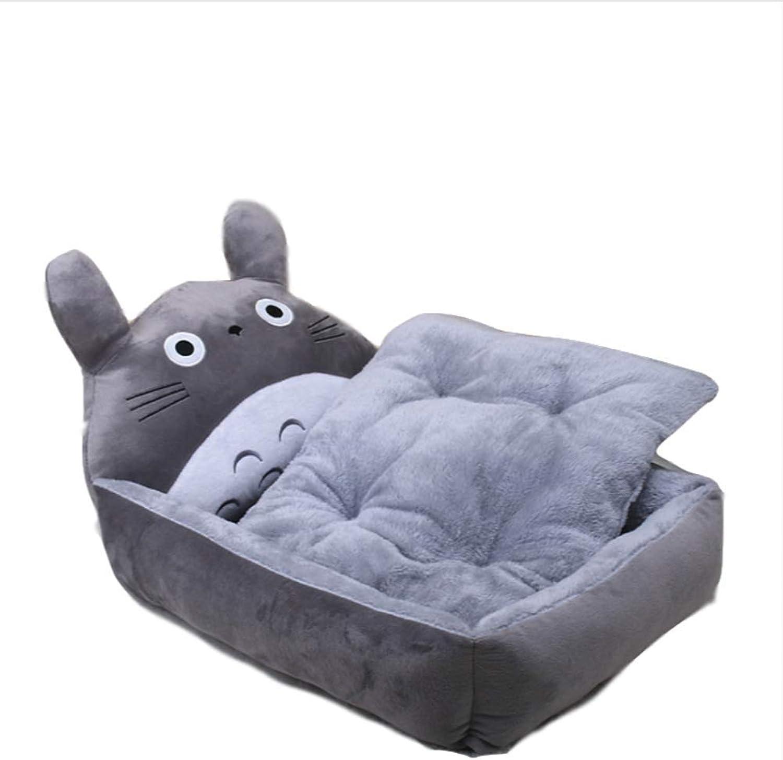 CARBE kennelPet Dog Bed Animal Cartoon Shaped Dog House Sofa Puppy Flannel Kennel Litter Pet Mats Big Dog Bed Kennel Plush Mat