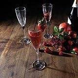 RCR 26232020006 Chic Sektgläser aus Luxion-Kristall, 150 ml, 6er-Set Champagne Glasses, Glas - 5
