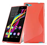 Cadorabo Case works with WIKO HIGHWAY STAR 4G in CANDY
