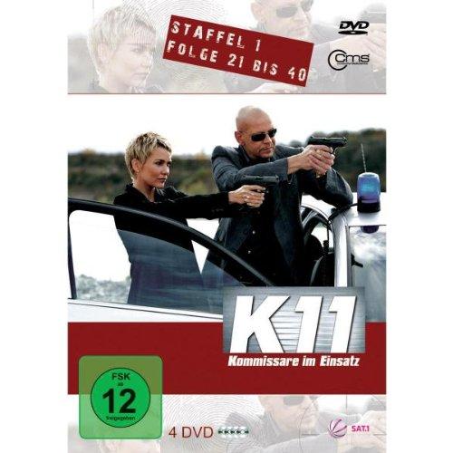 K11 - Staffel 1, Folge 21 bis 40 [4 DVDs]