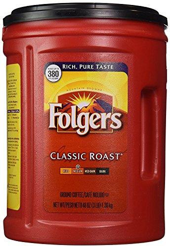 Cafe Para Cafetera marca Folgers