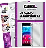 dipos I 2X Schutzfolie klar kompatibel mit Archos Core 55S Folie Bildschirmschutzfolie