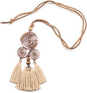 671ec6c719c1 Amazon.es: Collar Etnico - Collares y colgantes / Bisutería barata ...