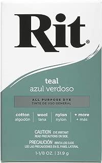 Rit, Teal Purpose Powder Dye, 1-1/8 oz