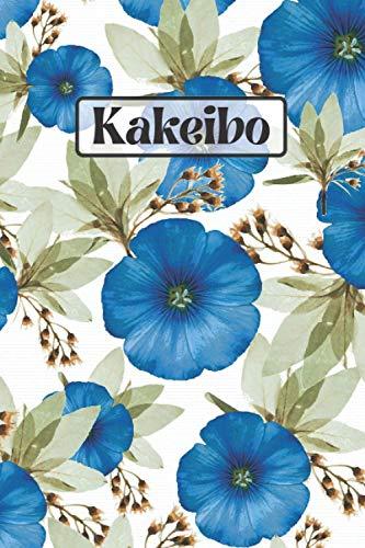 Kakeibo: Cuaderno de cuenta Kakeibo | Cuaderno de cuenta japonés | Cuaderno de cuenta | Kakebo | Kakeibo a rellenar