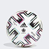 adidas Uniforia League Soccer Ball White/Black/Signal Green/Bright Cyan 4