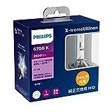 フィリップス ヘッドライト HID D4S/D4R共用 6700K 2600lm 42V 35W エクストリームアルティノン 純正交換用 車検対応 3年保証 PHILIPS X-tremeUltinon 42422XFX2