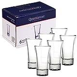 Queensway®, bicchierini da 60ml, ideali per whisky, tequila, vodka e altri distillati, ...