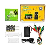 OSOYOO Basic kit Learn Programming for BBC Micro:bit Micro-Controller with Motion Detection, Compass, LED Display and Bluetooth for Kids and Beginners (not Include 2X AAA Batteries