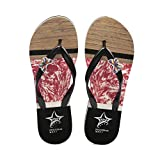 AASh Sandalias de verano para niña o mujer, color negro y rosa, color Rosa, talla 38 EU