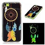 OnlyCase Coque iPhone 5C, Premium élégant Effet Lumineux TPU Doux Etui de Choc,Noctilucent Étui...