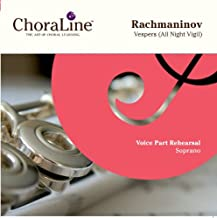 Rachmaninov Vespers (All Night Vigil) Double CD SOPRANO Rehearsal CD