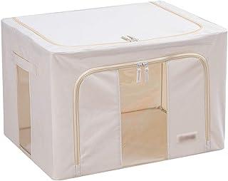 Sacs pour vêtements Blanc crème sac de rangement de grande capacité Vêtements Sacs de rangement Consolateur Sacs de rangem...