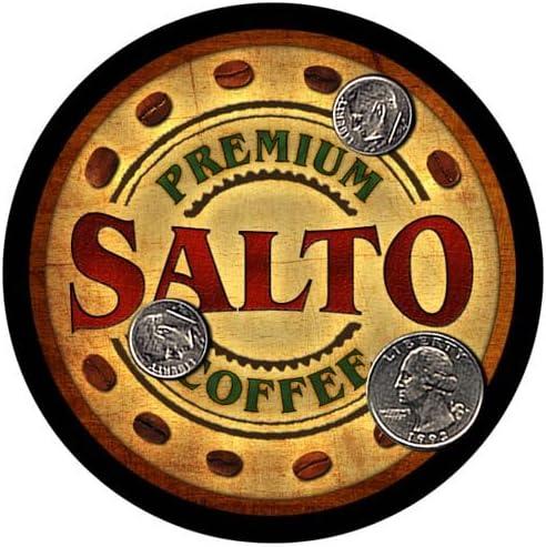 Salto Coffee Custom Ranking TOP12 Neoprene Rubber Product Coasters pcs 4 Drink -