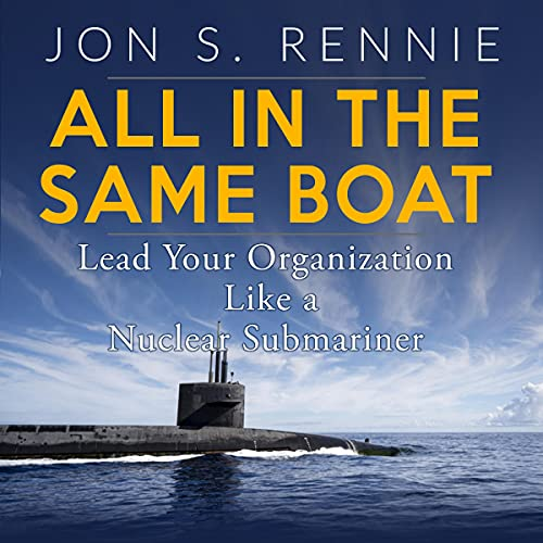 All in the Same Boat Audiobook By Jon Rennie cover art