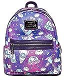 Loungefly Hello Kitty Spaceships Print Mini Backpack Standard