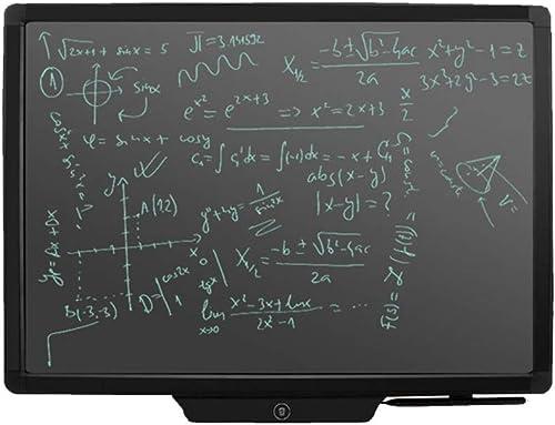 CHTXD-Writing board LCD Schreibbrett Elektronische Rei ett Abs Grafik Eingabekarte Kinder Erwachsene Hause BüRo Urlaub Geschenk 20 Zoll (Schwarz