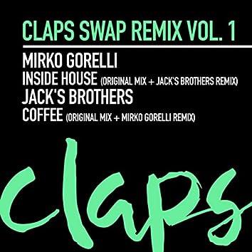 Claps Swap Remix, Vol .1