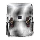 miim Cube Checkered Backpack (Ivory) for Lenovo IdeaPad S400 Touch