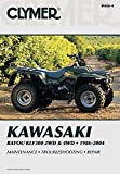 Clymer ATV REPAIR MANUAL - KLF 300-1986-2004 Orange Cycle Parts