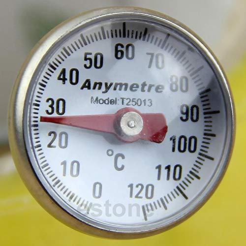 Siwetg nieuwe roestvrijstalen keuken levensmiddelen koken melk sonde temperatuur thermometer