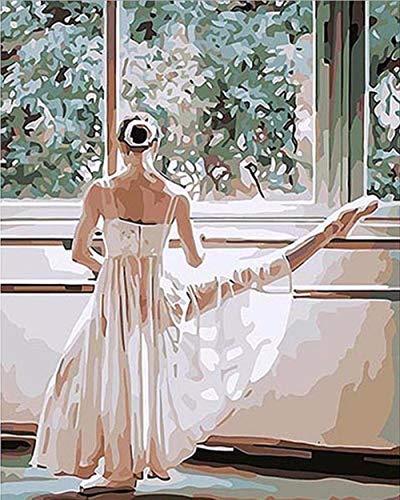 Puzzle Adulto De 1000 Piezas Bailarina De Ballet Presionando Las Piernas para Niños Juego Creativo Rompecabezas Navidad Decoración del Hogar Regalo