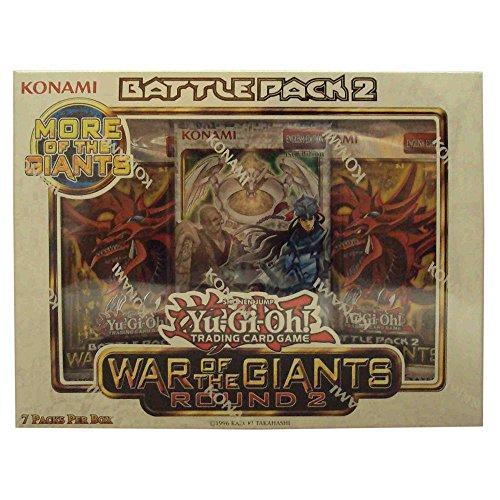 Konami Yu Gi Oh! War of The Giants Round 2 Battle Pack 2