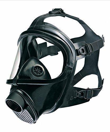 Dräger CDR 4500 Vollmaske CBRN ABC Zivilschutz US NIOSH Zulassung, EN136 Kl. 3