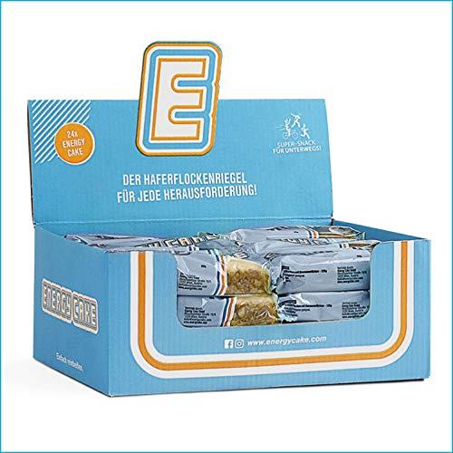 Energy Cake – Original Haferflocken Energieriegel mit langkettigen Kohlenhydraten, weniger Zucker & mehr Energie für den Alltag - Fitness Cake & Oatmeal - Joghurt 24x 125g (3kg)