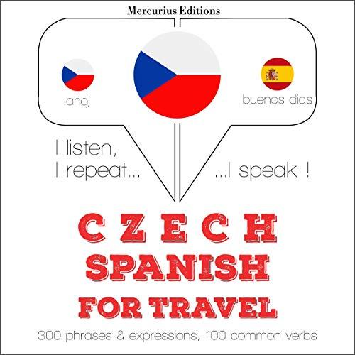 Czech - Spanish. For travel cover art