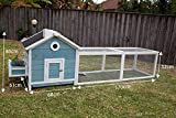 "Best Chicken Coops - Seny 103"" Garden Window Wooden Chicken Coop Rabbit Review"