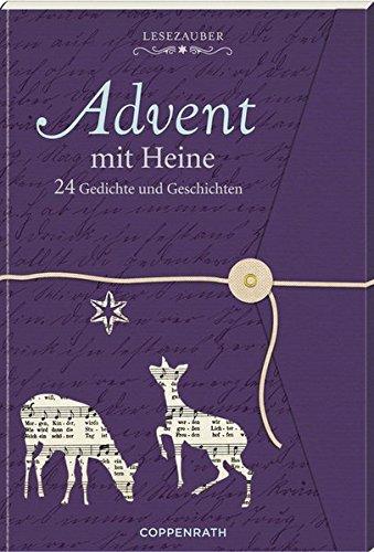 Lesezauber: Advent mit Heine - Briefbuch zum Aufschneiden: 24 Gedichte und Geschichten (Adventskalender)