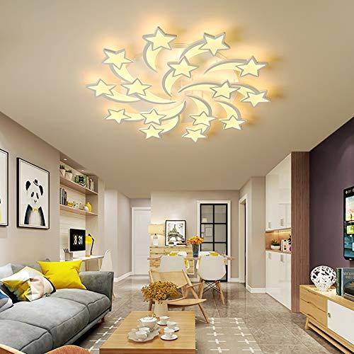 WandaElite Luz de Techo Creativo Lluvia de meteoros de la Sala de la Personalidad Simple Arte Moderno Dormitorio Calidad de la luz Decorativa