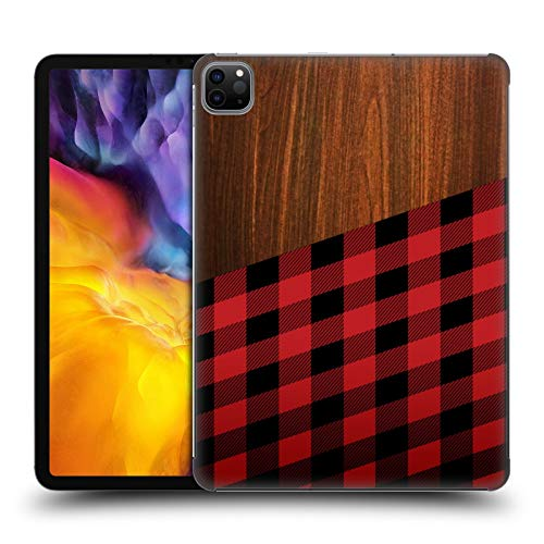 Head Case Designs Ufficiale Nicklas Gustafsson Legno Taglialegna Textures Cover Dura per Parte Posteriore Compatibile con Apple iPad PRO 11 (2020)