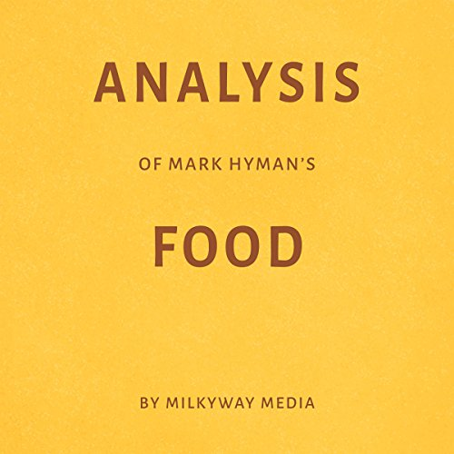 Analysis of Mark Hyman's Food audiobook cover art