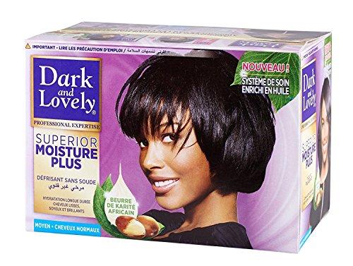 Dark & Lovely No Lye Relaxer Regular - Kit de pelo normal