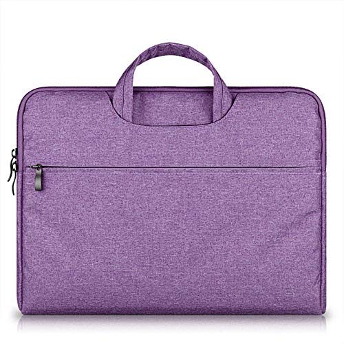 Laptop Handbag Case for MacBook Air Pro Sleeve Case Protective Bag Ultrabook Notebook 13/14/15/15.6 inch Carrying-Purple_11-inch