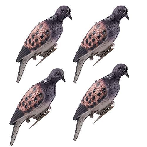 GUGULUZA Heavy Duty Pigeon magnete Decoy Machine spinning shooting 2/braccio rotante Motion