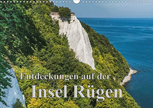 Entdeckungen auf der Insel Rügen (Wandkalender 2021 DIN A3 quer)