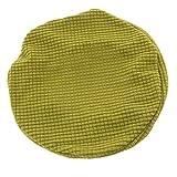 FLAMEER Fodera Coprisgabello in Poliestere Accessorio Protettivo Rotondo Cuscino Pad - Erba Verde
