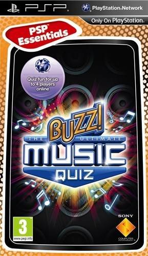 Sony Buzz!: The Ultimate Music Quiz, PSP PlayStation Portatile (PSP) ITA videogioco