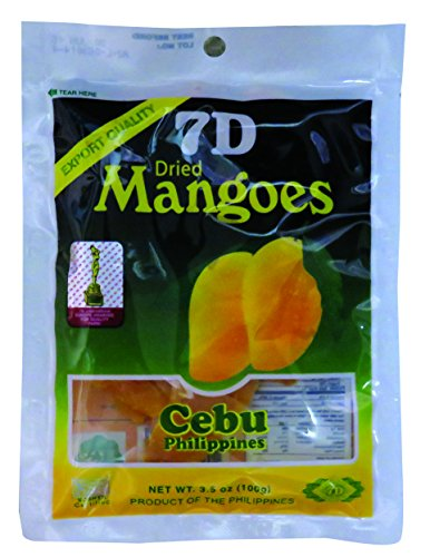 7D dried mango 100g x 5 bags 7D Dried Mango 100g x 5pcs [parallel import goods]