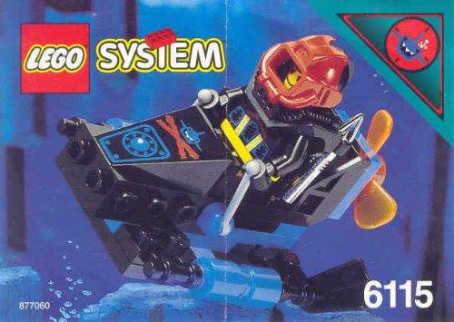 LEGO System Aquasharks 6115 Propeller-Scooter
