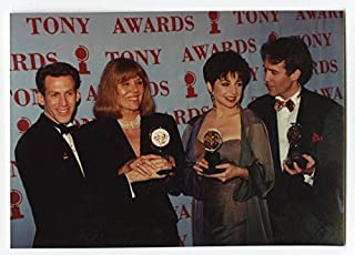 1994 Tony Awards Warrack Photo - Diana Rigg, Boyd Gains, Spinella & Murphy