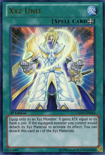 Yu-Gi-Oh! - Xyz Unit (GAOV-EN062) - Galactic Overlord - 1st Edition - Ultra Rare
