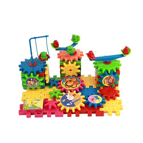 Kinderen Kleurrijk Plastic Elektrische tandwielen 3D plastic speelgoed, Elektrische tandwielen 3D Puzzel Bouw Blolck Kits Bakstenen Educatief speelgoed Geschenken voor kinderen