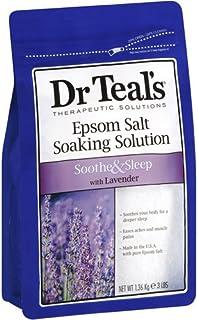 エプソムソルト 《Dr. Teal's Epsom Salt 1.36kg 》 ラベンダー