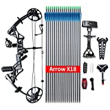 Compound Bow Package,M1,19'-30' Draw Length,19-70Lbs Draw Weight,320fps IBO Via...