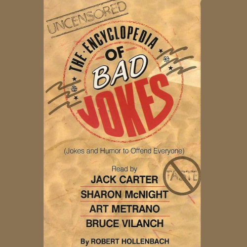 The Encyclopedia of Bad Jokes audiobook cover art